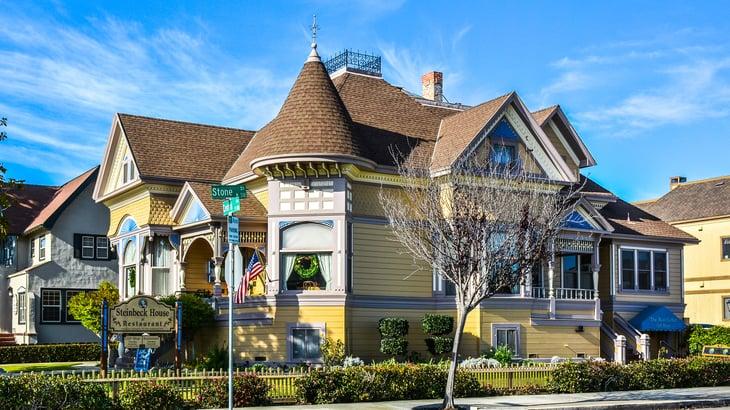 Steinbeck house in Salinas
