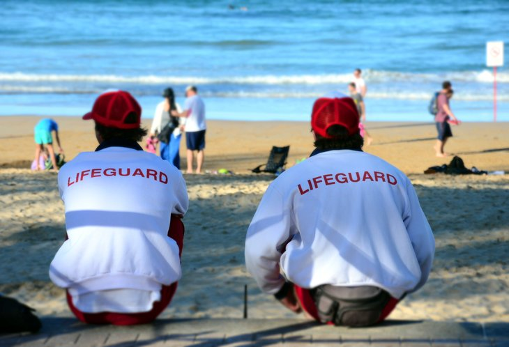 Being a lifeguard requires diligence, responsibility and teamwork.