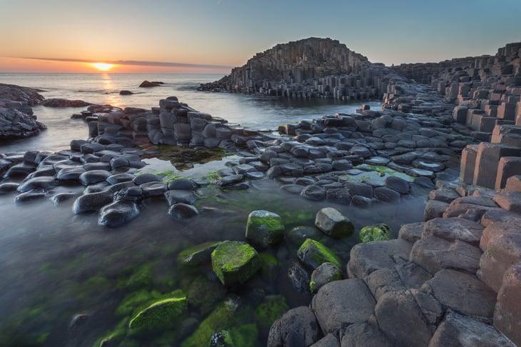 The Giant's Causeway, Antrim, Northern Ireland.