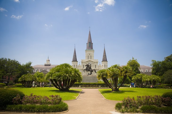 New Orleans offers a unique combination of really hot weather, an intensely rich history and culture and some fantastic music and food.