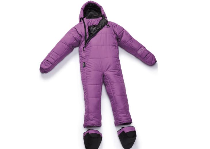 Purple Selk bag/suit.