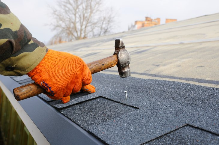 Put the final nail in your roof maintenance or replacement plans by doing the right research. (Photo by Spok83 / Shutterstock.com)