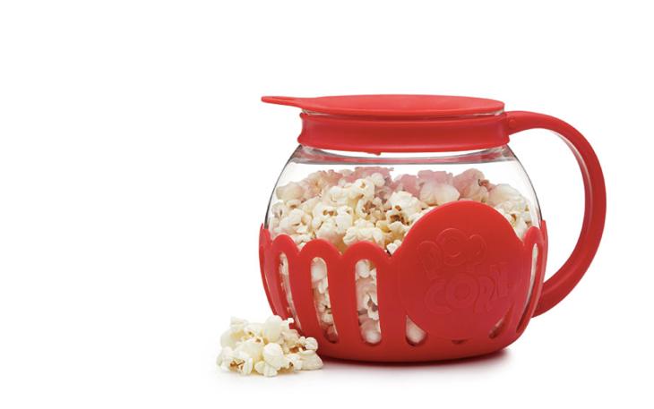Red popcorn popper
