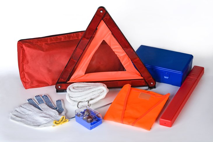 Make sure you have an emergency kit in your car.