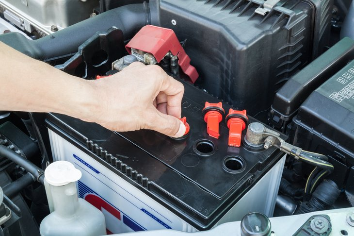 Check your car battery before you hit the road this summer.