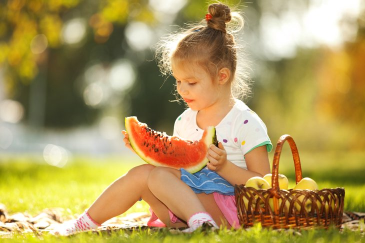 There's nothing like a watermelon from the picnic basket in a hot day.