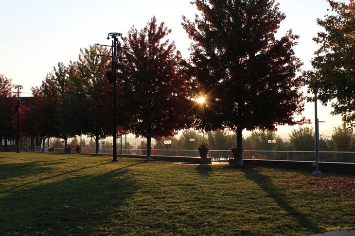 Smale Riverfront Park in Cincinnati, Ohio