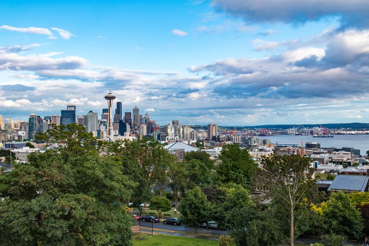 Kerry Park in Seattle.