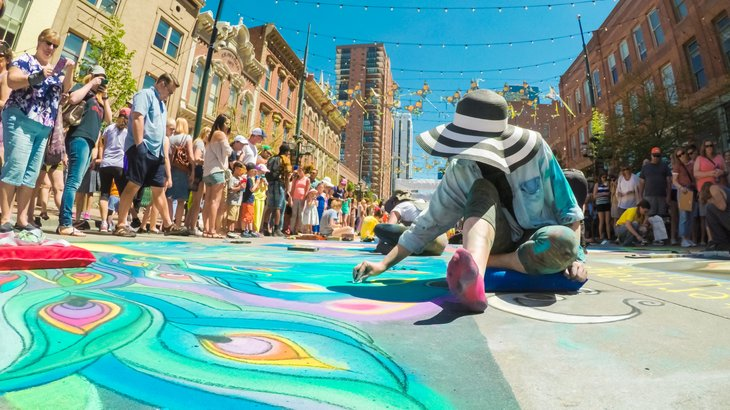 Festival in Denver, Colorado