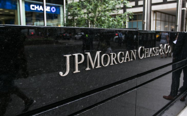 JP Morgan Chase sign