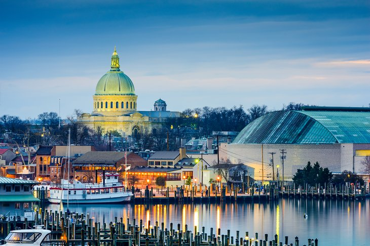 U.S. Naval Academy in Annapolis, Maryland