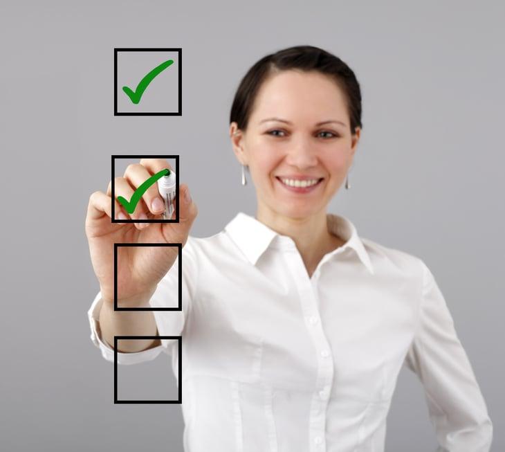 Women's checklist