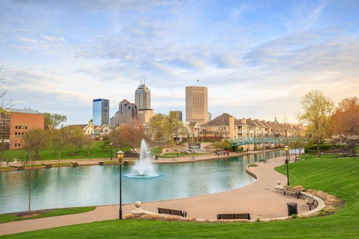 Indianapolis, Indiana cityscape