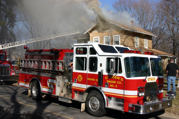 Seymour, CT Structure Fire