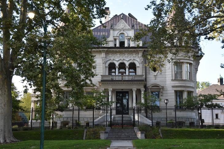 Governor's mansion in Salt Lake City, Utah