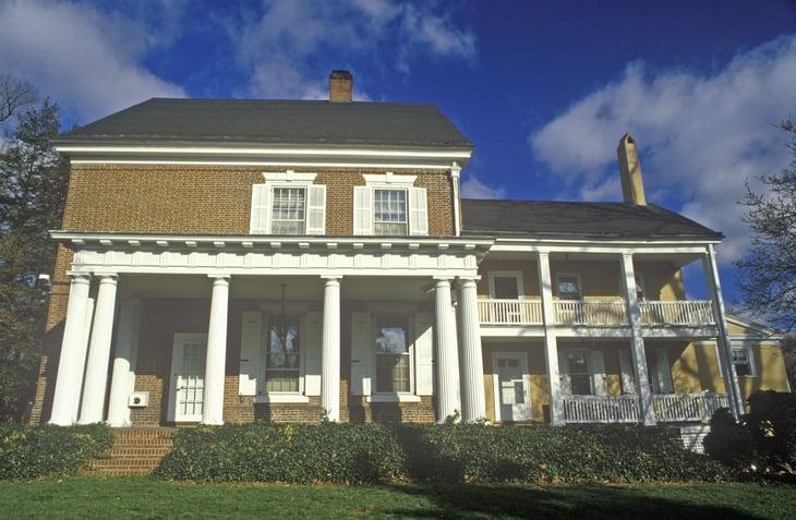 Governor's mansion in Dover, Delaware