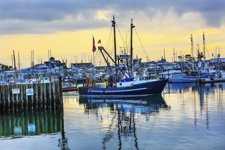 Marina at Grays Harbor, Washington