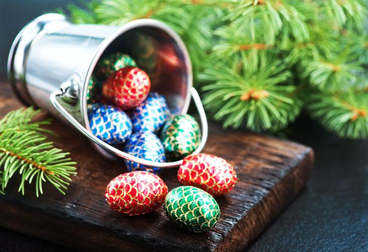 Christmas chocolates