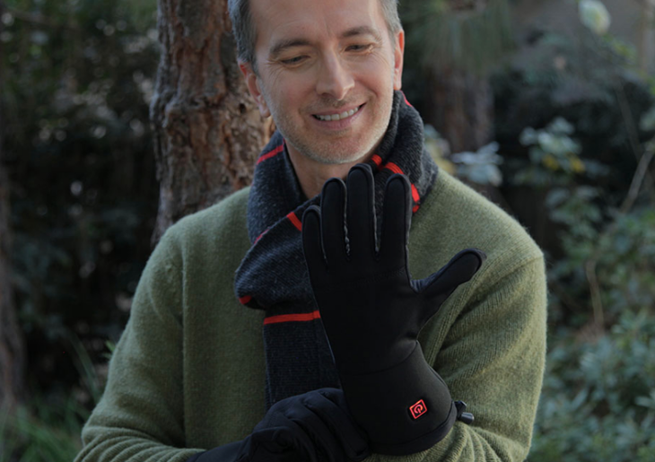 Gloves with warmers
