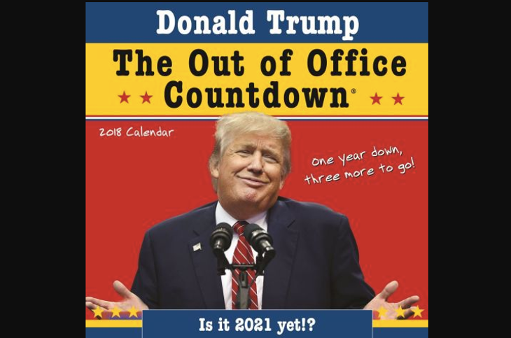 Trump Out of Office Countdown Calendar