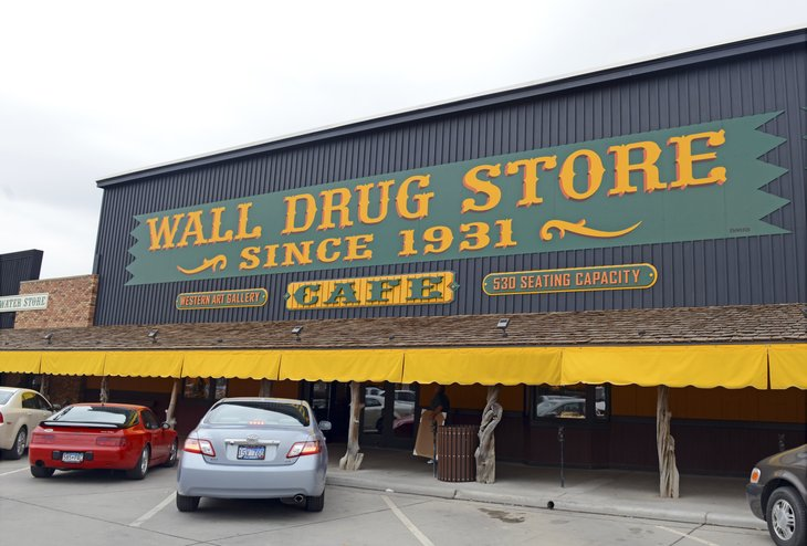Wall drugstore in South Dakota