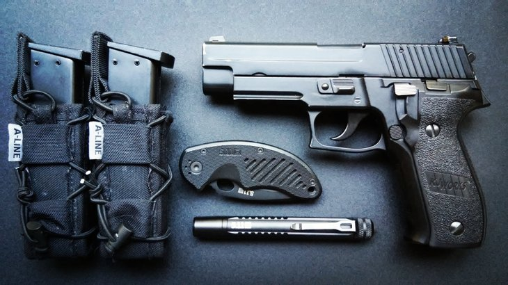 Sig Sauer guns