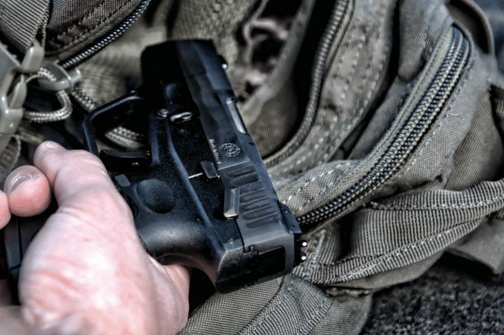 Taurus USA handgun.