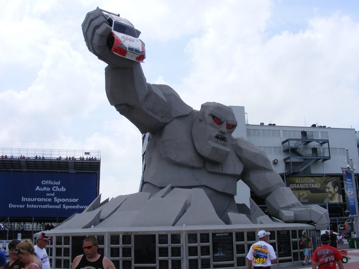 Dover International Speedway monster