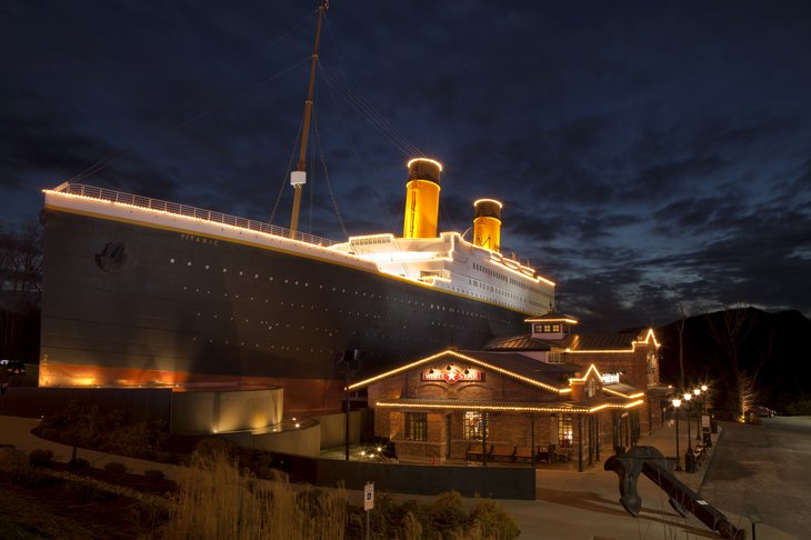The Titanic Museum in Pigeon Forge, TN