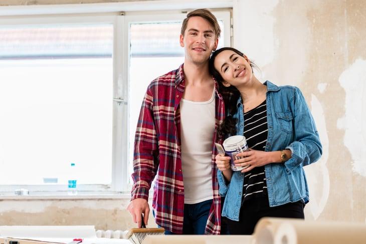 Couple Home Improvement