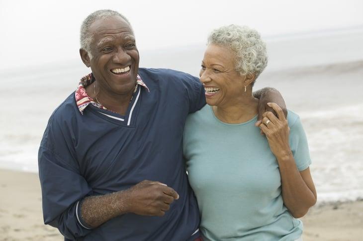 Cheerful retirees
