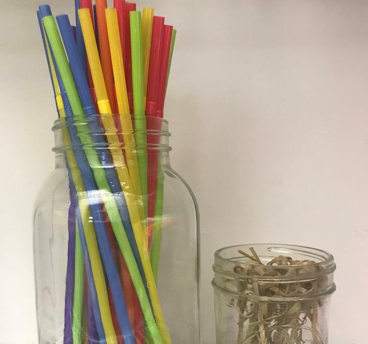 Items in mason jars