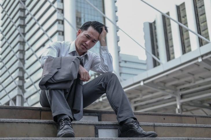 Unemployed worker