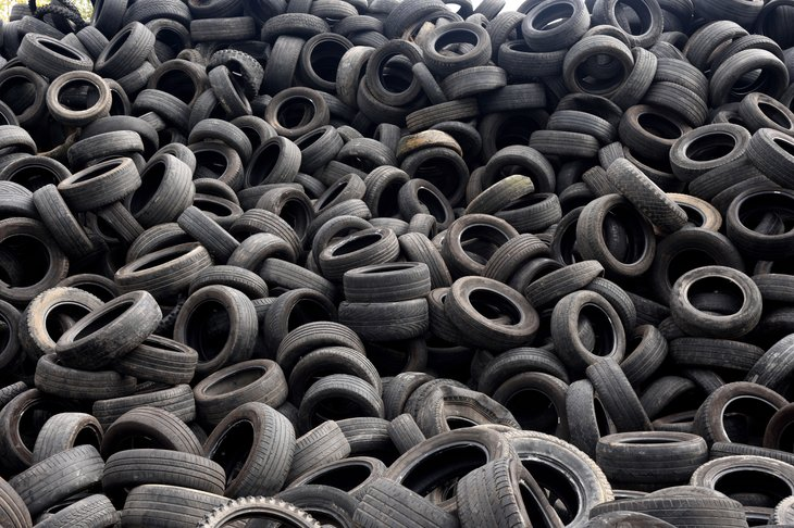recycling tires