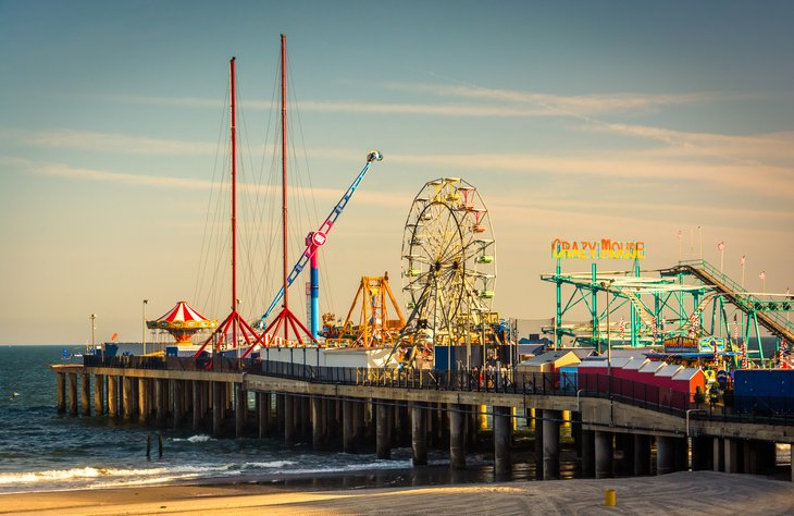 Steel Pier in Atlantic City, New Jersey