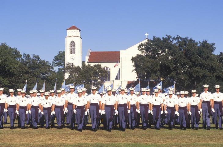 The Citadel in South Carolina