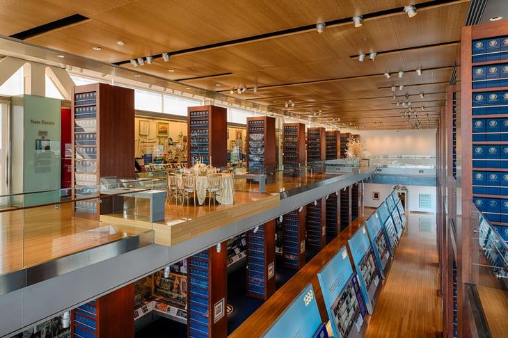 Clinton Library in Little Rock, Arkansas