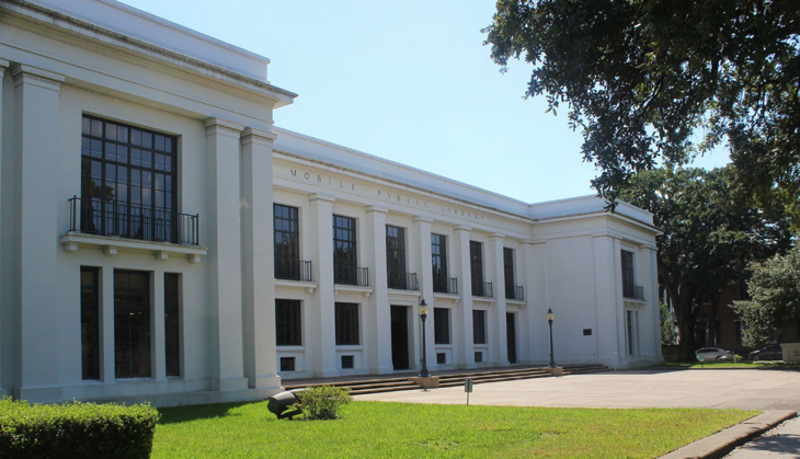 Ben May Library in Mobile, Alabama