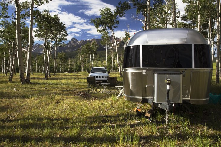 28 foot Airstream Hastings Mesa near Ridgway, Colorado