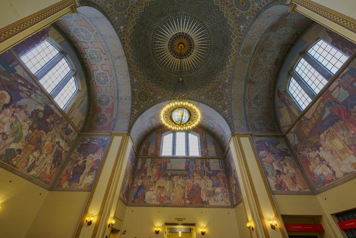 Los Angeles Public Library Rotunda