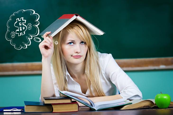 Woman Student Loan