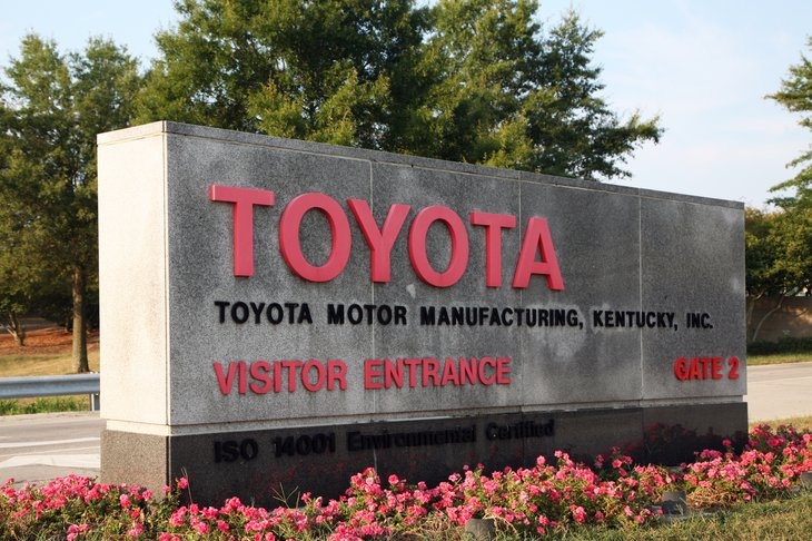 Toyota plant, Kentucky.