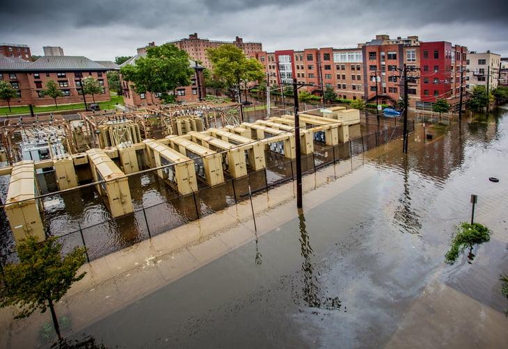 Hoboken after Hurricane Irene