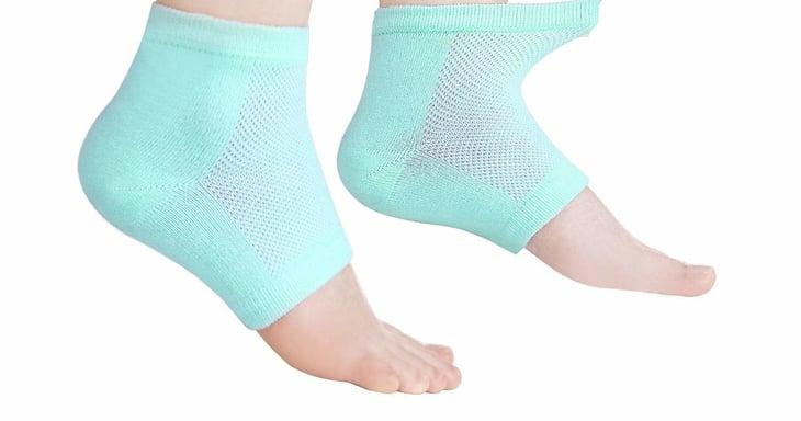 Nouritty Gel Heel Sleeves Moisturizing Socks