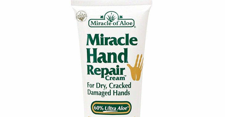 Miracle of Aloe's Miracle Hand Repair Cream