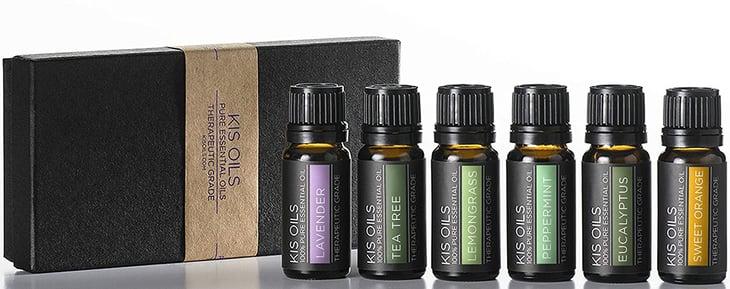 Kis Oils 100% Pure Essential Oils, Therapeutic Grade sampler