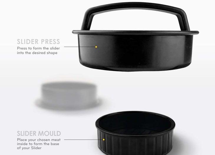 MiiKO Stuffed Burger Press