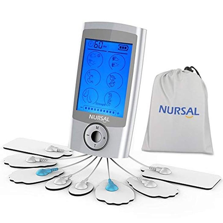 Nursal TENS Unit Rechargeable Electronic Pain Relief Massager