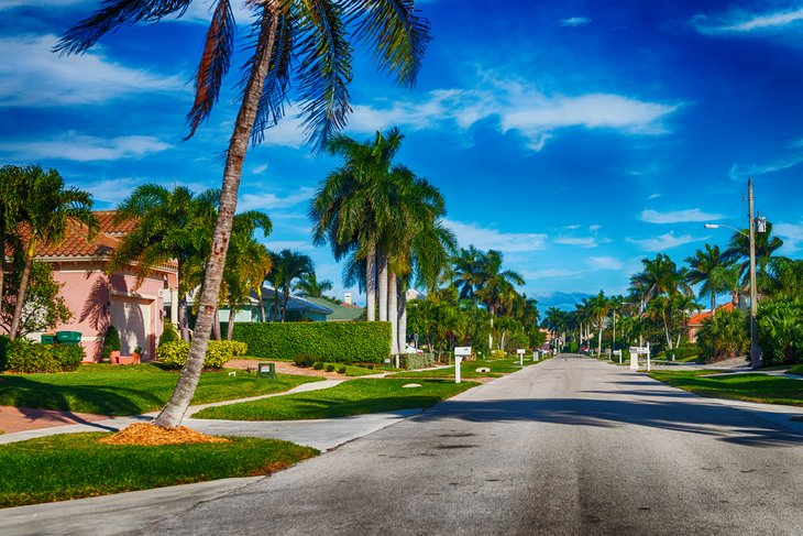 Quiet neighborhood in Orlando