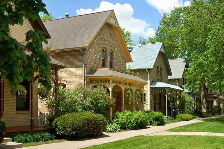 Minneapolis, Minnesota residential area